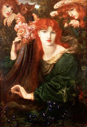 La Ghirlandata 1873 by Dante Gabriel Rossetti © Guildhall Art Gallery 2015