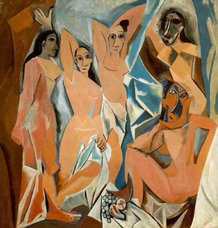 Picasso Part One: Les DemoisellesD'Avignon