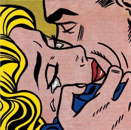 Kiss V, Roy Lichtenstein, Pop Art