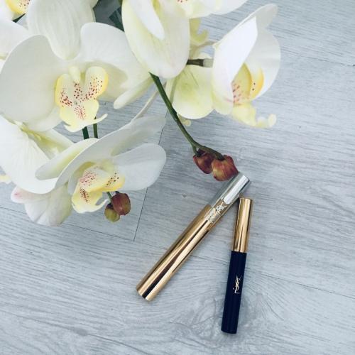YSL mascara and eyeliner