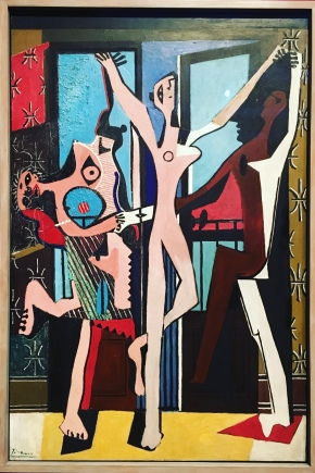 The Three Dancers by Picasso