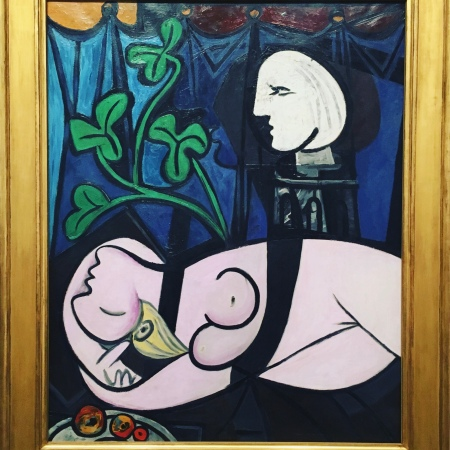 Nude, Green Leaves and Bust by Picasso
