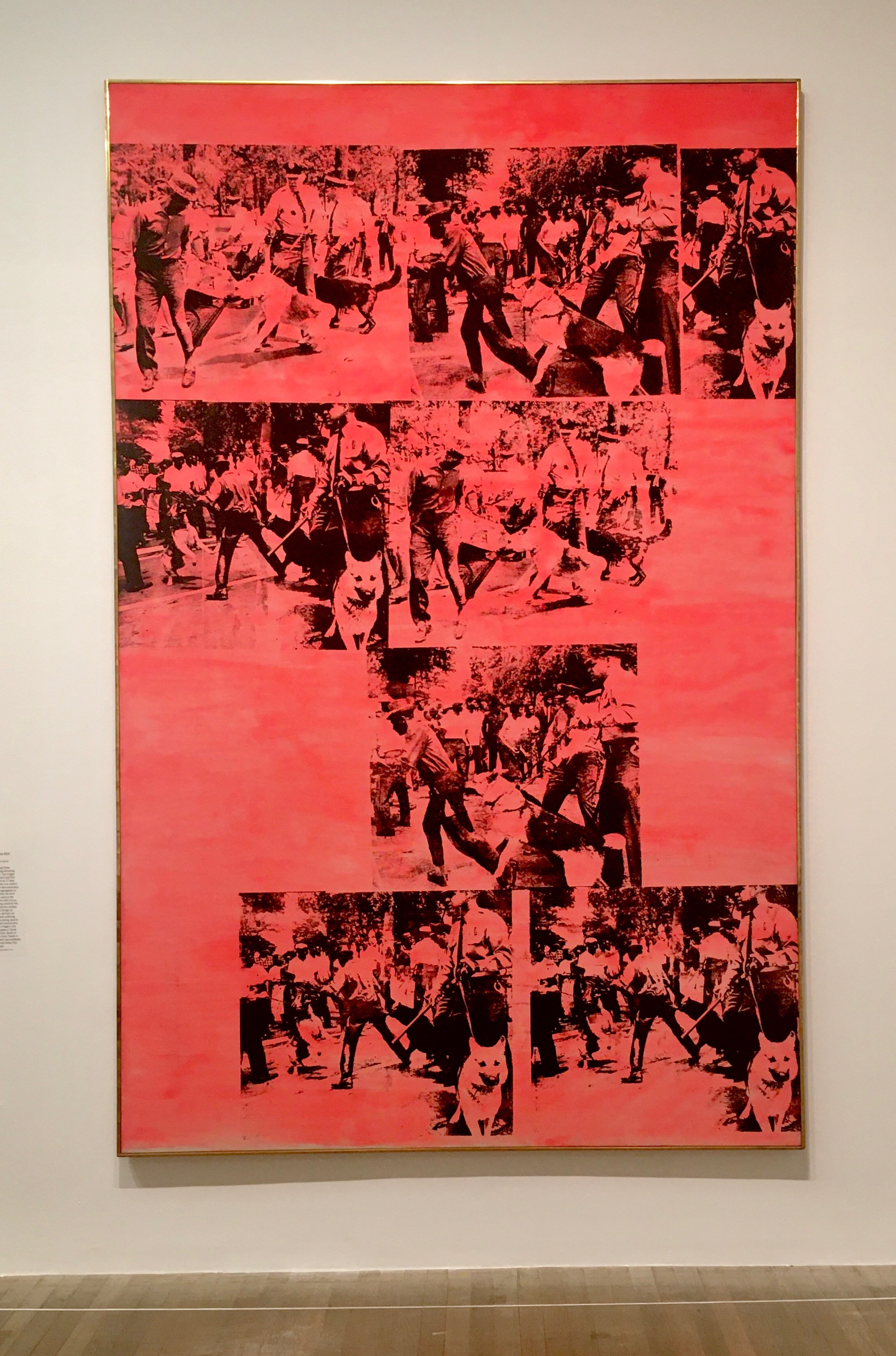 Red Race Riot, Andy Warhol