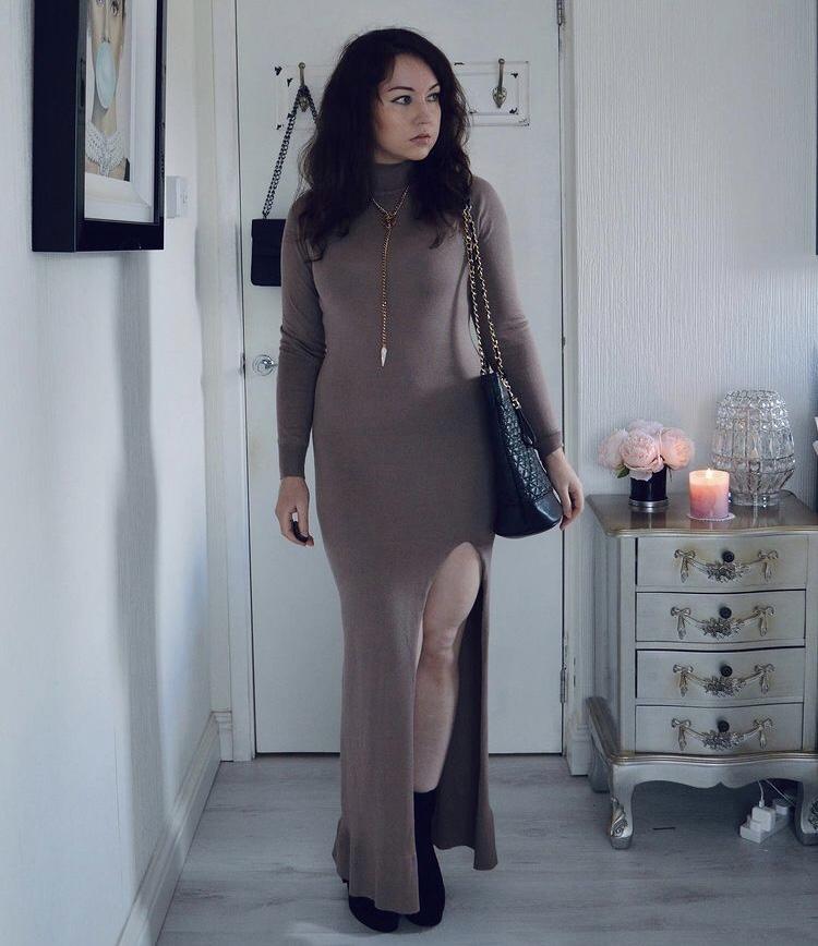 Style Diary: Winter MaxiDress